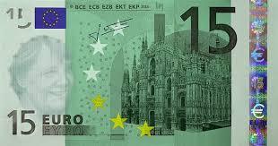 biglietto da 15 euro