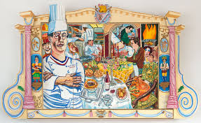 Paul Bocuse art